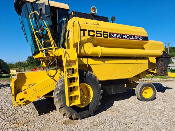 New Holland tc 56 Hydro  4,5 heder 2500 Mth  NIEMCY