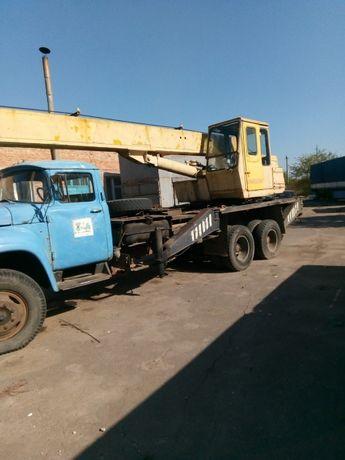 Автокран КС3575А на базі ЗІЛ 133ГЯ