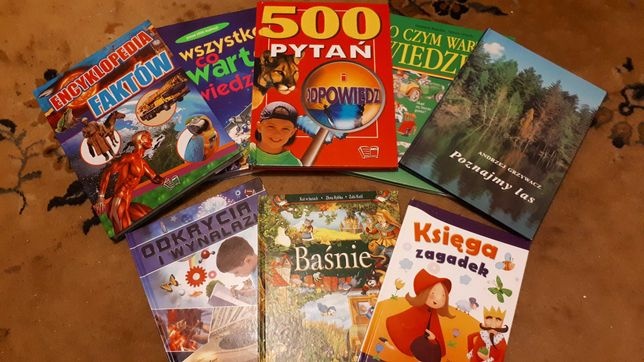 Książki edukacyjne - piękne!