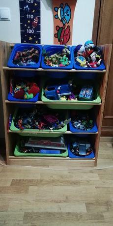 Estante arrumação crianças Ikea