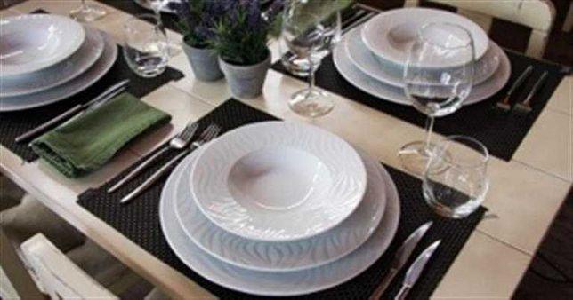 SPAL WAVES - Porcelana Fina Branca de alta qualidade Venda avulso-NOVO