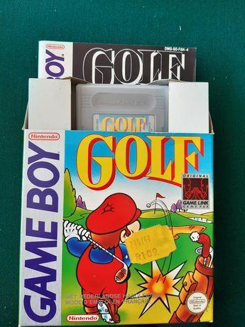 """Jogo para Game Boy """"Mário Golf"""""""