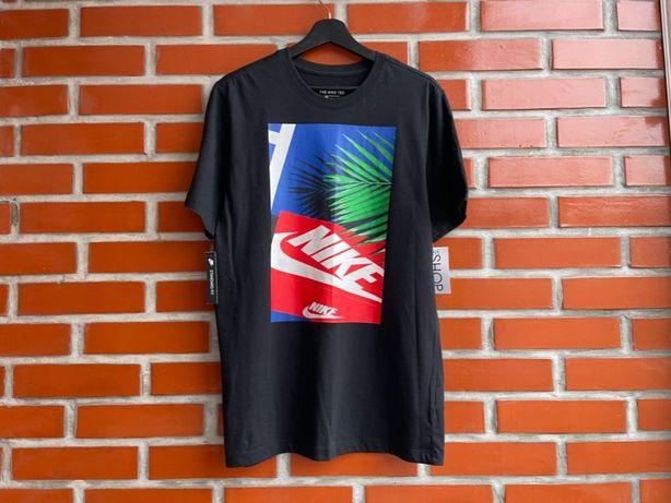 Nike BQ0461-010 оригинал новая мужская футболка размер M Найк