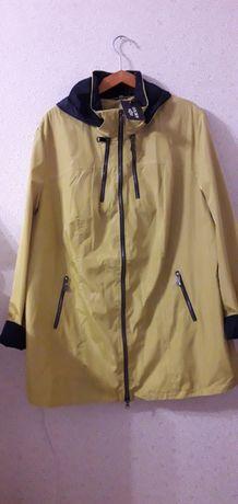 Куртка женская,новая,  весна-осень,с капюшоном, р.56-58