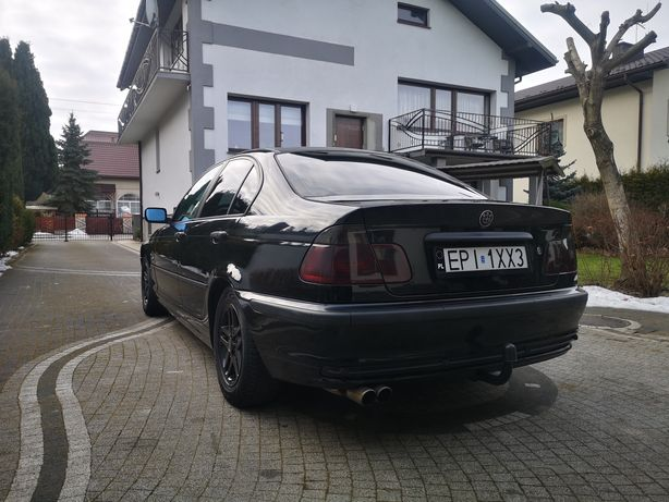 BMW e46 2.0 R6 manual LPG 150km 1998 przedlift czarny schwarz II