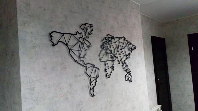 Ozdoba mapa świata NOWA!