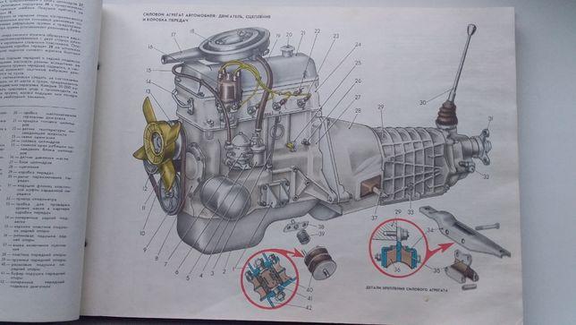 Книга по ремонту и обслуживанию классических автомобилей ВАЗ.