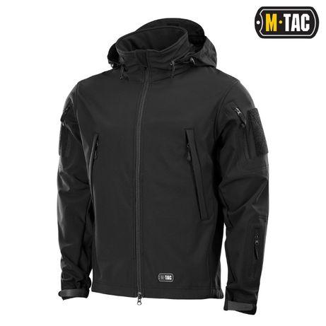 Куртка непромокаемая Soft Shell M-Tac черная