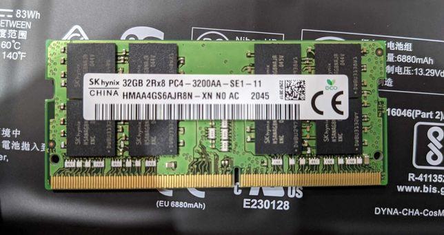 Модуль памяти ОЗУ SK Hynix 32GB SO-DIMM DDR4 3200 MHz