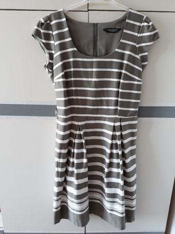 sukienka szarooliwkowa rozmiar 42 (Dorothy Perkins)