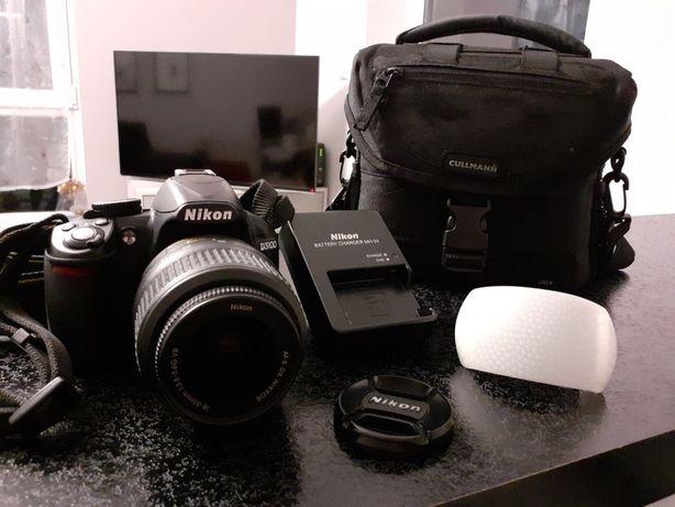 Lustrzanka cyfrowa Nikon D3100 + obiektyw 18-55 GDAŃSK