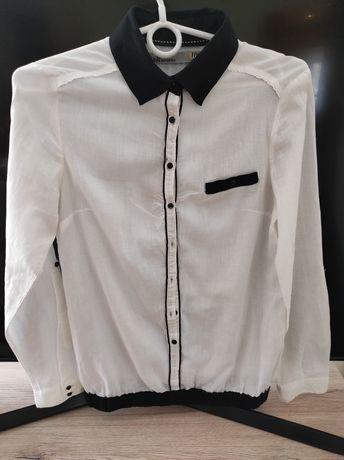Koszula biała damska Bershka