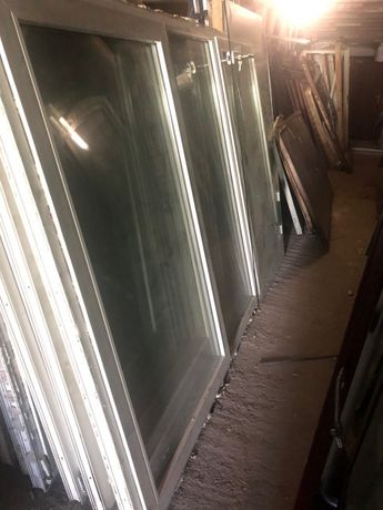 Okno PCV trzycześciowe 176X285