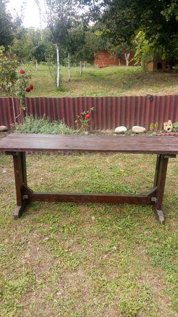 Продам деревянные столы и лавки.