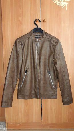 Куртка мужская из эко кожи.