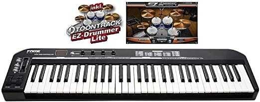 (NOVO)  Fame KC-49 Limited Black Edition USB MIDI Keyboard Controller.
