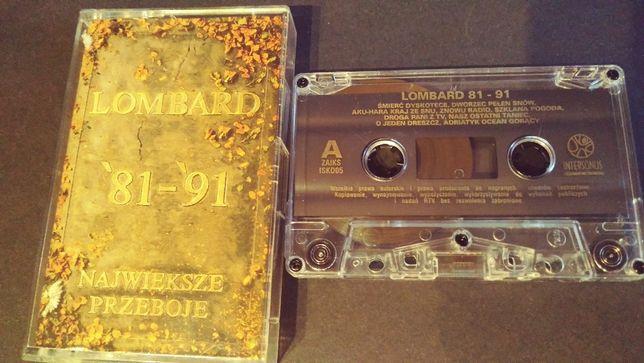 Lombard – '81 - '91 Największe Przeboje - UNIKAT - kaseta magnetofono