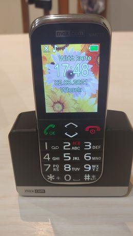 Maxcom mm720bb senior telefon jak nowy miesieczny
