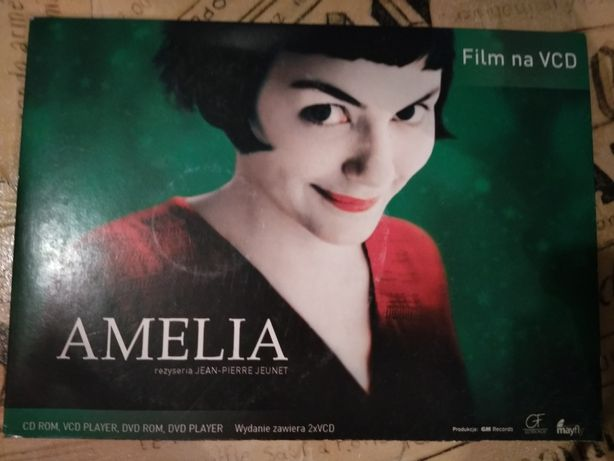 Amelia film na dvd