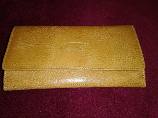 Nowy portfel skórzany