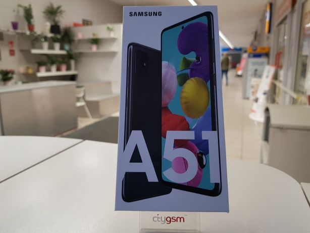 Nowy Samsung Galaxy A51 Dual SIM - Prism Crush Black