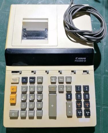 Máquina de calcular antiga CANON modelo P4420-D com impressora
