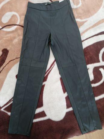 Шкіряні штани ZARA
