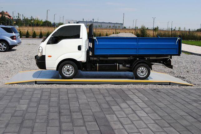 Platforma 2mx4m 5t waga najazdowa samochodowa stalowa