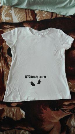 Koszulka ciążowa rozm. L