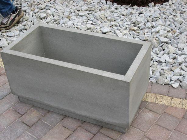 Donica betonowa, kwietnik, ciężka, solidna