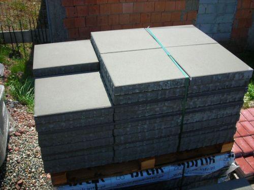 Płytki chodnikowe 40x40 Simple płyty betonowe tarasowe kostka brukowa