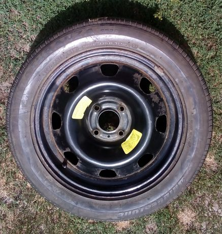 Opona Bridgestone Turanza 205/55/R16 ze stalową felgą