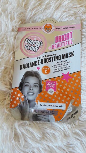 Soap & Glory - radiance-boosting mask - maska do twrzy