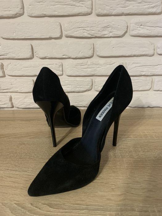 Туфли лодочки. Замшевые и кожаные. Черная классика. Черкассы - изображение 1