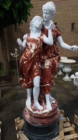 Estatua de marmore feito a mão natural