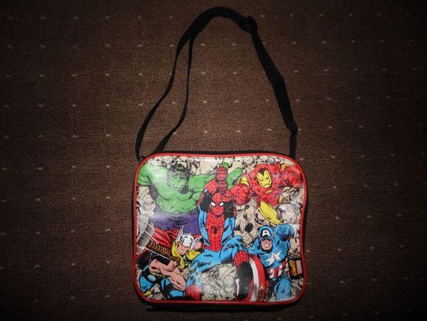 Термо сумка под ланч бокс polar gear lunch bag marvel