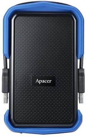 "Накопитель внешний HDD 2.5"" USB 2.0TB Apacer AC631Black/Blue"