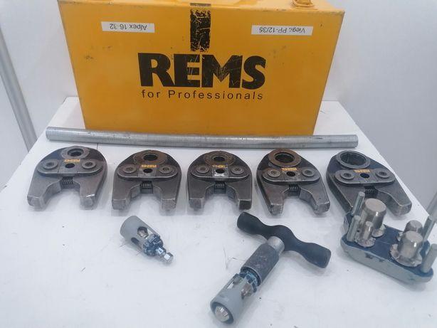 Szczęki REMS Mini F16F20F26F32 V12