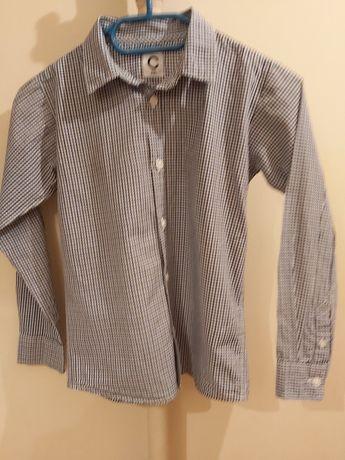3 Koszule dla chłopca roz. 128 długi rękaw
