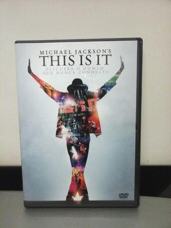 Dvd THIS IS IT de Michael Jackson - Últimos Concertos ENTREGA IMEDIATA