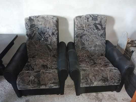 Wygodne fotele - 2 sztuki