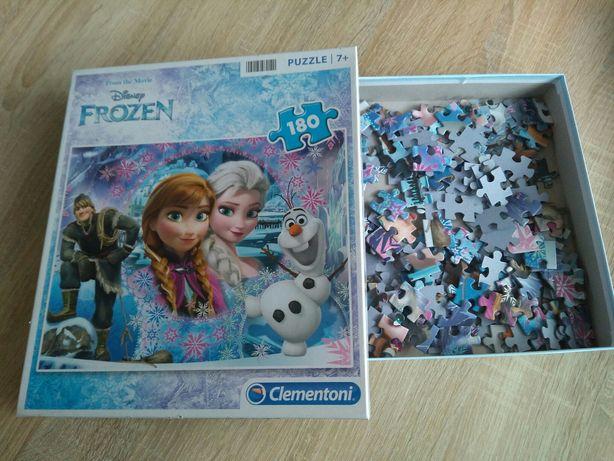 Puzzle Frozen, Minnie i  domino