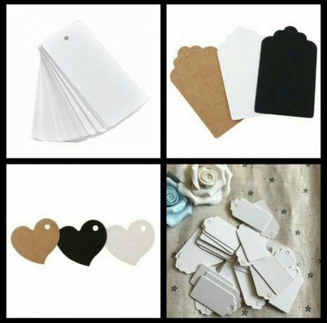 Etykiety - ślub, wesele, podziękowania dla gości, zawieszki