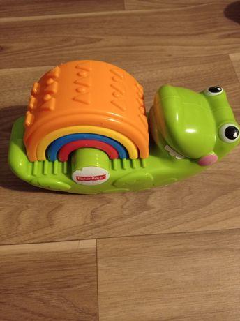 Fisher price krokodylek zabawka