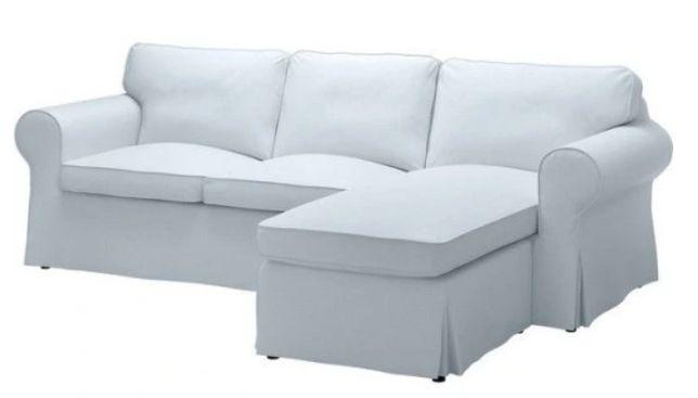 IKEA Ektorp fabr. NOWY, BŁĘKITNY pokrowiec 3 os. z leżanką 103.177.58