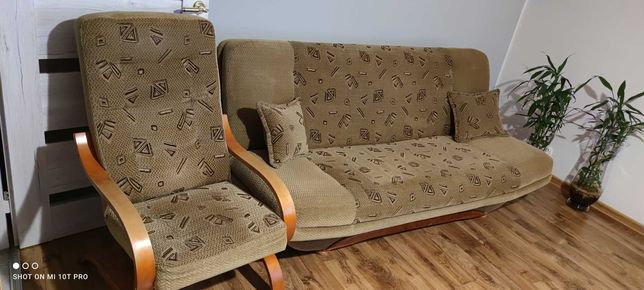 Kanapa Fotel Pufa