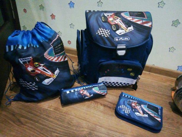 Ортопедический Рюкзак + пенал+ сумка для сменки Herlitz