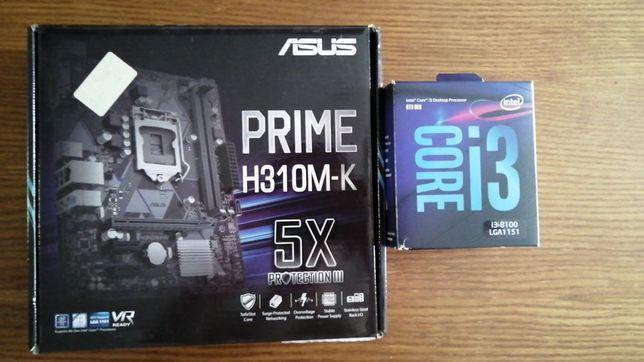 Продаю комплект, процессор плюс материнка