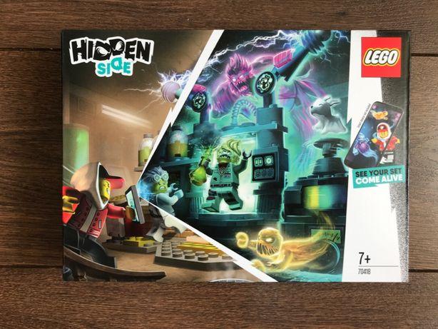 LEGO Hidden Side 70418 Laboratorium duchów J.B. - NOWE