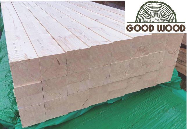 Kantówki heblowane C24 DUO 140x140 mm, drewno na altanę, słupy, belki